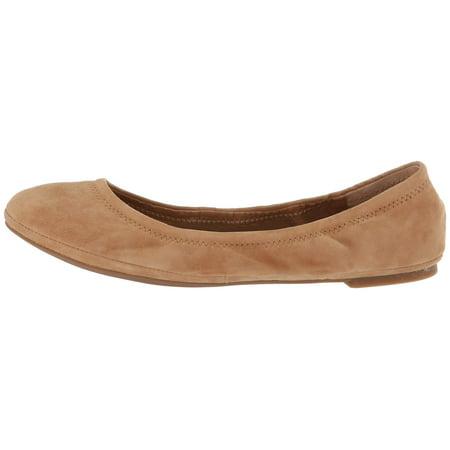Lucky Women's Emmie Ballet Flat Denim Leather Flats