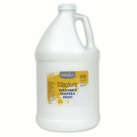 Little Masters™ Washable Paint, White, Gallon - White Clown Paint