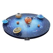 Space Kids Solar System Outer Space 3D Puzzle Educational Toy STEM Toys for Boys and Girls Brain Teaser Puzzles Children Space Toys Cool School Project Science Toys - 146 Pieces