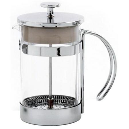 5574 Coffee Press Chrome Plated Frame With Glass Bowl - image 1 de 1
