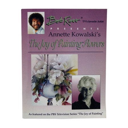 BOB ROSS INC. RAK100 BOB ROSS JOY OF PAINTING FLOWERS (Baker Ross Halloween Crafts)