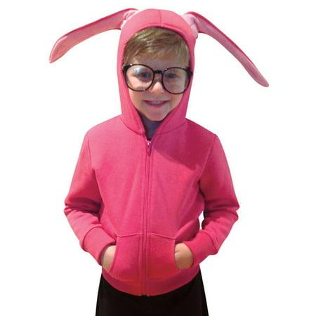 Bunny Hoodie Child Halloween Costume, One Size, (4-6x)](Bunny Coatume)