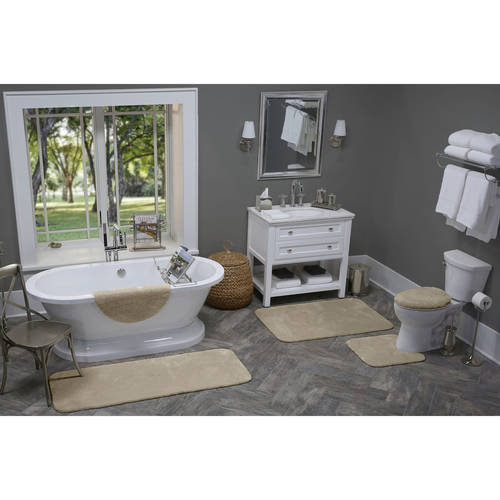 Better Homes and Gardens Extra Soft Bath Rug Collection, Lid Cover
