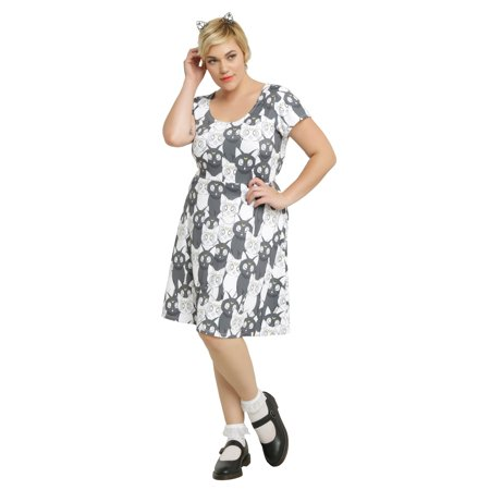 Sailor Moon - Sailor Moon Luna & Artemis Junior Plus Size Dress ...