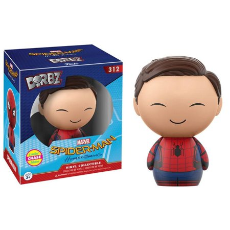 FUNKO DORBZSPIDER-MAN: HOMECOMING: SPIDER-MAN UNMASKED - CHASE LIMITED EDITION #312