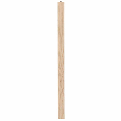 """Waddell Manufacturing 2678 28"""" Ash Parsons Table Leg"""