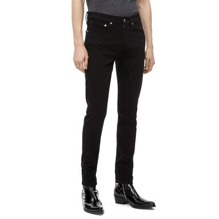 Calvin Klein Men's Skinny Forever Black Jeans, Forever Black, 36X30 Calvin Klien Jeans