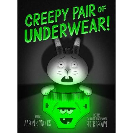 Creepy Pair of Underwear! - eBook - Creepy Drawings For Halloween