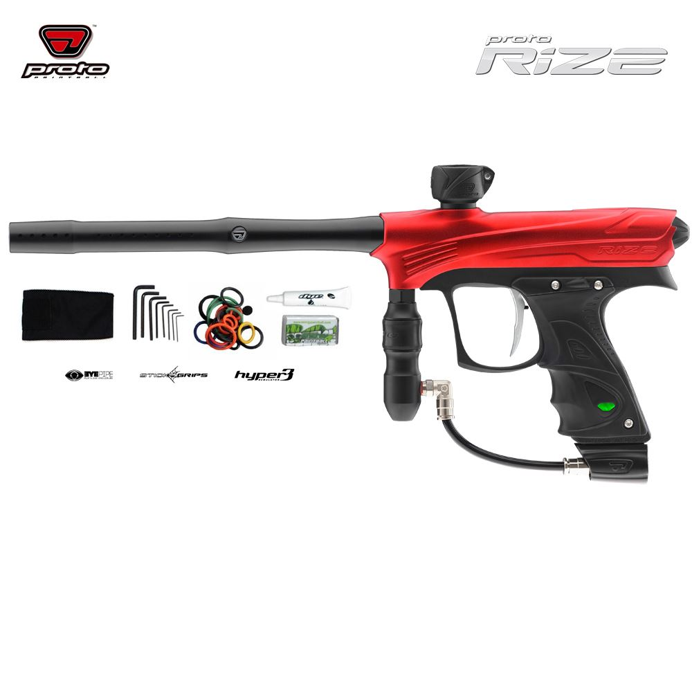 PROTO MATRIX RIZE PAINTBALL GUN - RED DUST