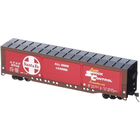 Bachmann 18140 HO Scale Evans All-Door Box Car - Santa Fe