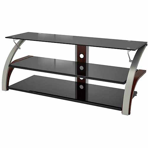 Spade Black TV Stand for TVs up to 65""