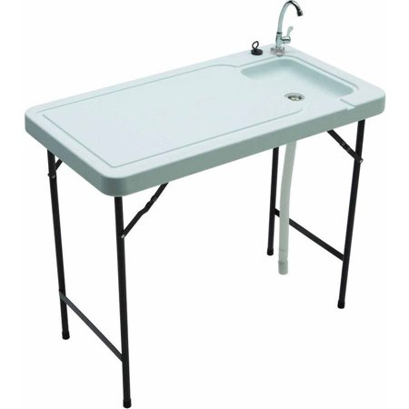 Tricam MT-2 Outdoor Fish and Game Cleaning Table, 150 lb Load Capacity