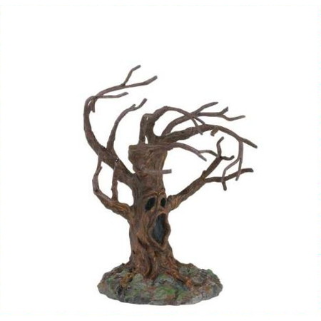 Department 56 Halloween Village Stormy Night Tree