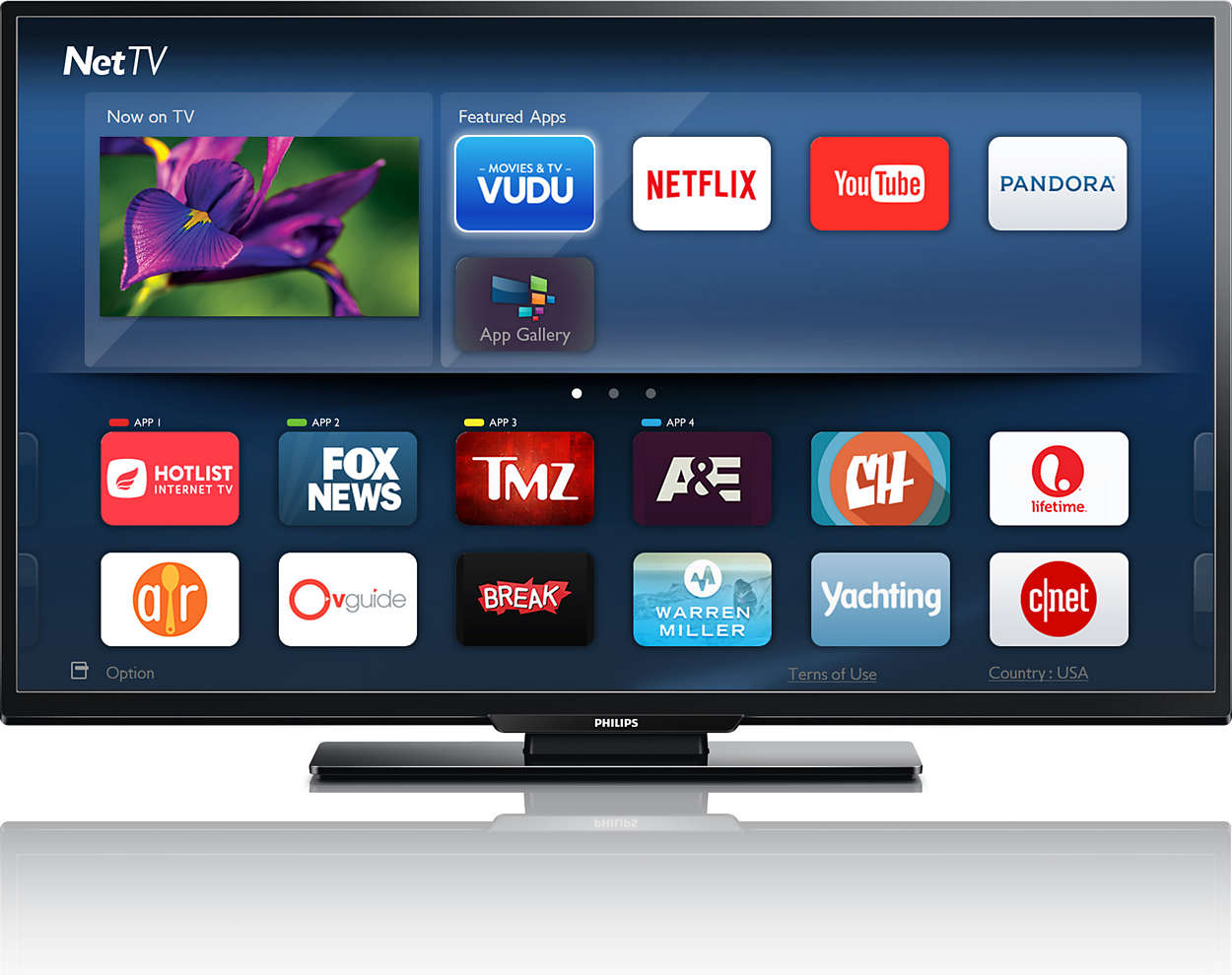 "Refurbished Philips 55"" Class 4K (2160P) Smart LED TV (55PFL5602 F7) by Philips"