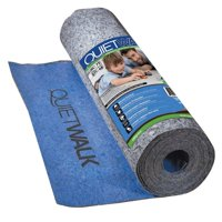 MP Global Products QuietWalk 100 Sq Ft Acoustical Underlayment with Built-in Vapor Barrier for Laminate Flooring