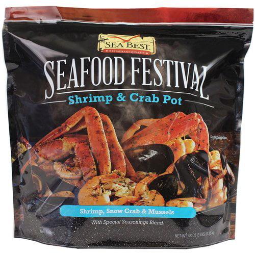 Sea Best Seafood Festival Shrimp & Crab Pot, 3 lbs - Walmart.com