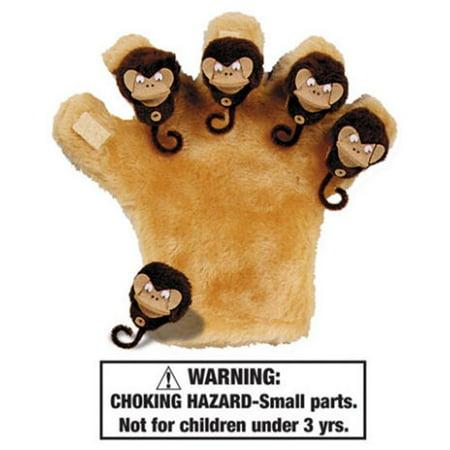 - Melody House WZ-2116 Five Little Monkeys and Single Monkey Mitt