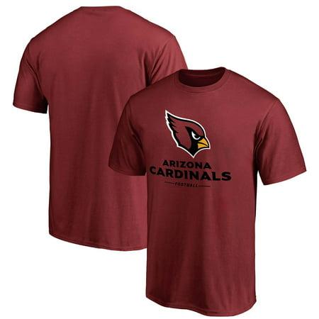 - Arizona Cardinals NFL Pro Line by Fanatics Branded Team Lockup - T-Shirt - Cardinal