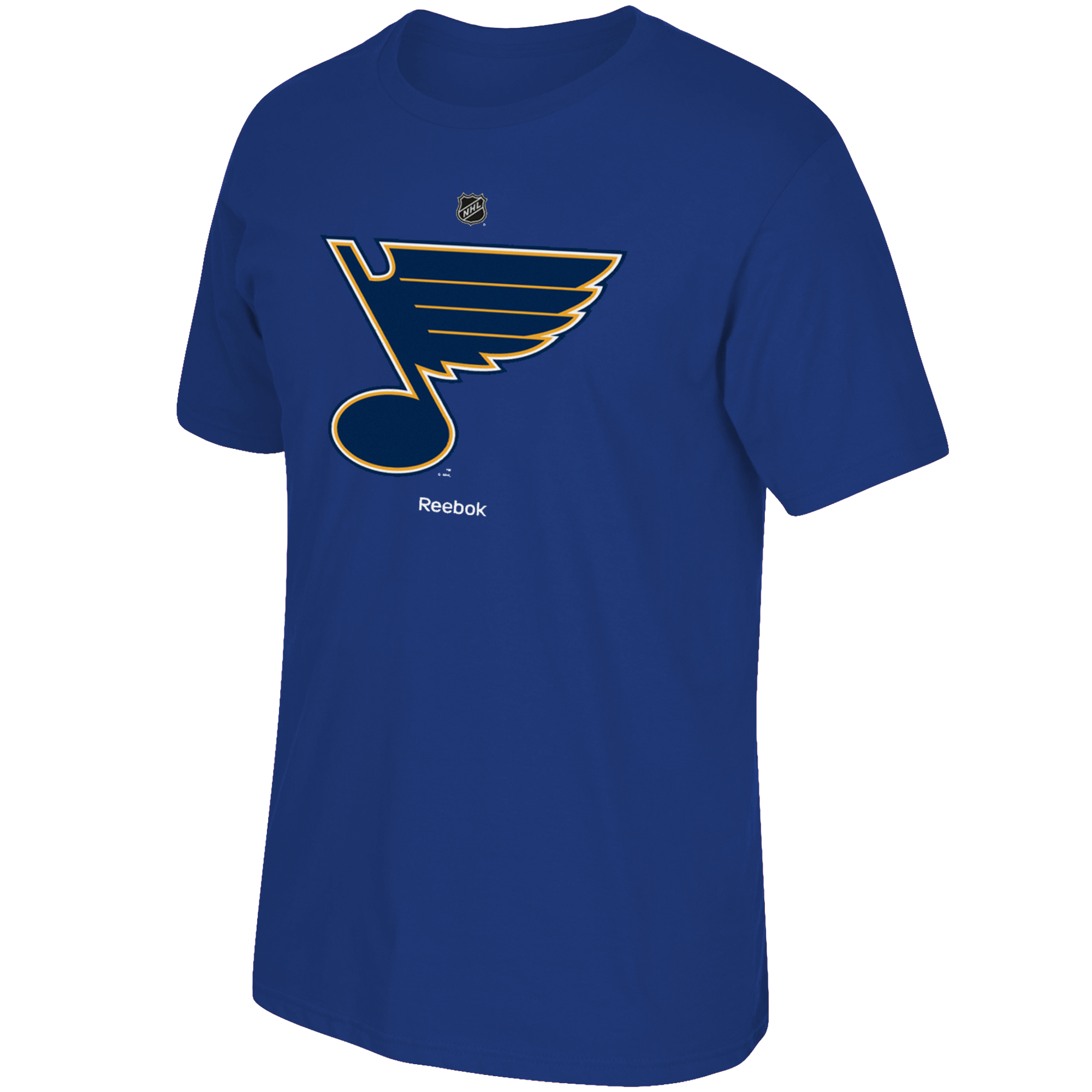 St. Louis Blues Reebok Primary Logo T-Shirt - Blue