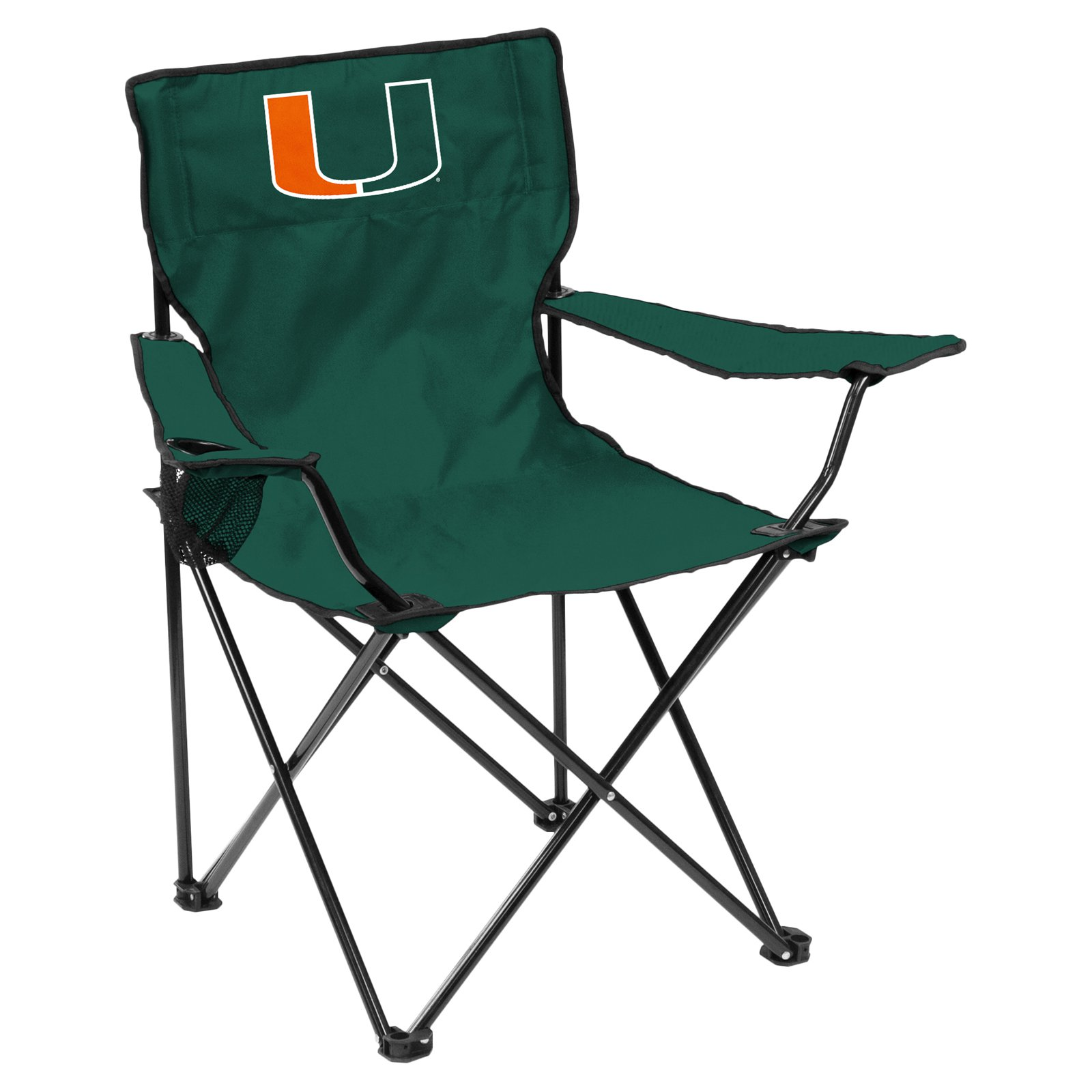 Logo NCAA Miami Quad Chair