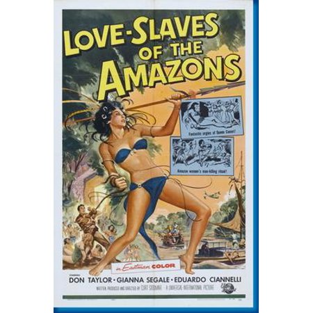 Love Slaves Of The Amazons Movie Poster