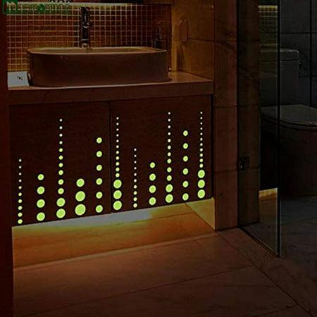 400pcs Kids Ceiling Wall Stickers Bedroom Glow in the Dark Stars Decoration - Star Wars Bedroom Decorations