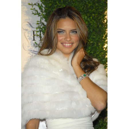 Adriana Lima At Arrivals For The 34Th Annual Fifi Awards By The Fragrance Foundation The Hammerstein Ballroom New York Ny April 3 2006 Photo By Gregorio BinuyaEverett Collection Photo Print