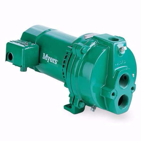 Fe Myers HJ100D Deep Well Jet Pumps, 1 HP, Cast Iron Hydraulic Jet Pump
