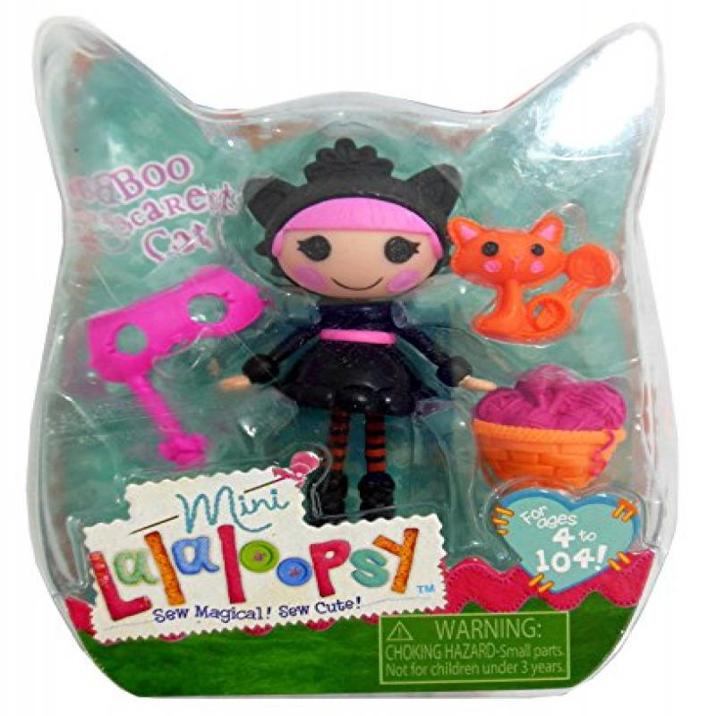 Mini Lalaloopsy Halloween Exclusive Boo Scaredy Cat