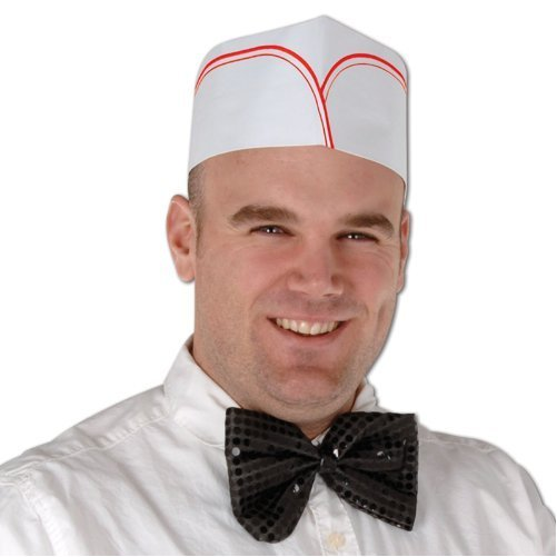 Soda Jerk Hats Party Accessory (1 count) (4/Pkg)