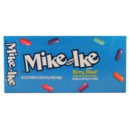Arctic Berry Blast (Product Of Mike&Ike, 25C Berry Blast, Count 24 (0.78 oz) - Sugar Candy / Grab Varieties & Flavors)