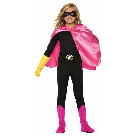 Pink Child Cape Halloween Costume Accessory