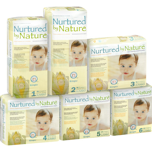Nurtured by Nature Diapers (Choose Your Size)