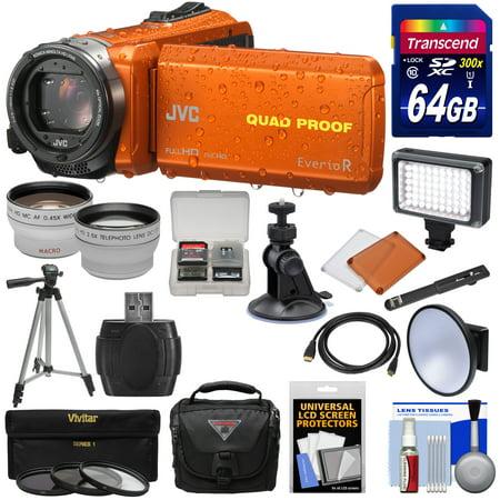JVC Everio GZ-R440 Quad Proof Full HD Digital Video Camera