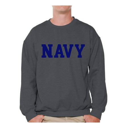buy online 8cf10 2bb7f Awkward Styles - Awkward Styles Men's Navy Sweatshirt ...