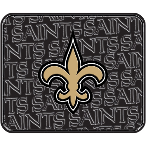 NFL Saints Rear Floor Mat