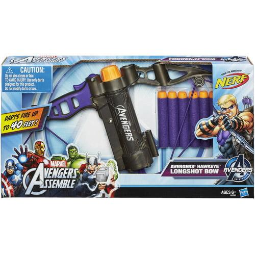 Marvel Avengers Assemble Avengers' Hawkeye Longshot Bow Toy - Walmart.com