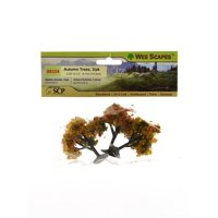 Architectural Model Trees Autumn Trees, 2 1/4 in. - 2 1/2 in., pack of 3 (pack of 3)