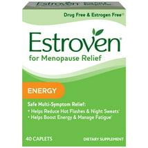Vitamins & Supplements: Estroven Menopause Relief + Energy