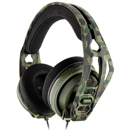 Plantronics RIG 400 HX Forest Camo Headset for Xbox One