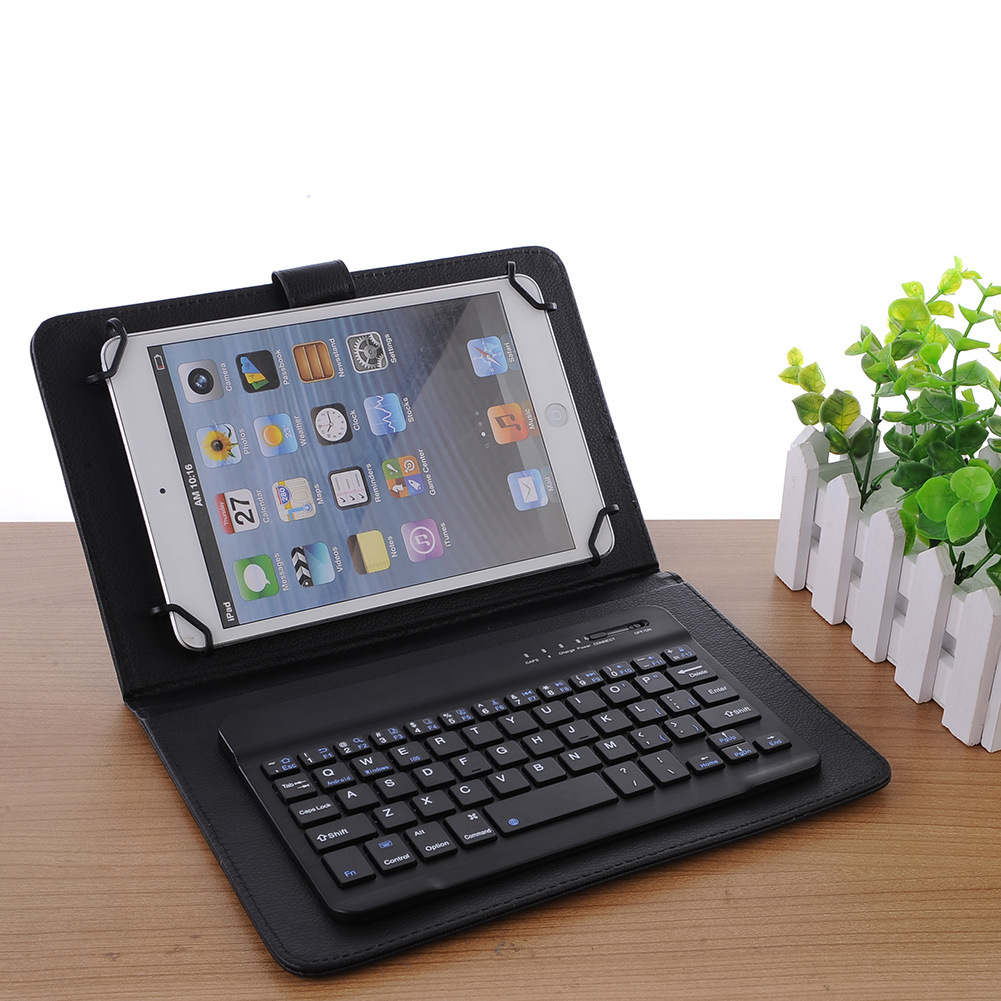 "Portable 7.0"" Slim Wireless Bluetooth 3.0 Keyboard for iOS, Android and Windows Tablets"
