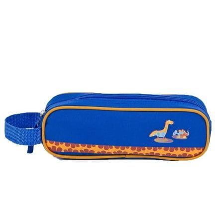 Aquarella Kids Boys Blue Dino Back To School Pencil Case](Kids Pencil Case)