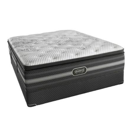katarina twin xl size plush mattress and low profile box spring set beautyrest black katarina. Black Bedroom Furniture Sets. Home Design Ideas