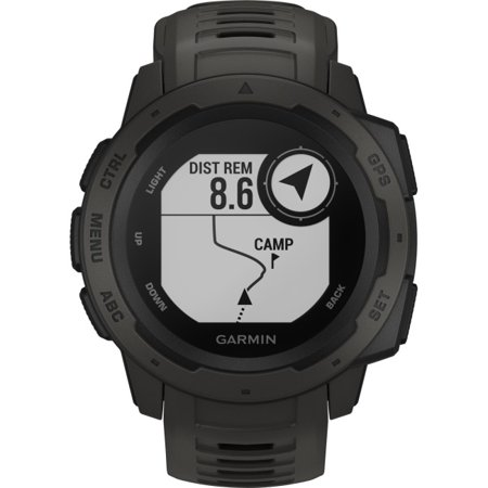 Garmin Instinct - Rugged GPS Watch (Bushnell Neo Gps Watch)