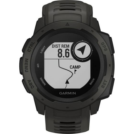 Garmin Gps Watch >> Garmin Instinct Rugged Gps Watch