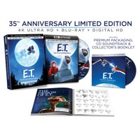 E.T. The Extra-Terrestrial - 35th Anniversary Limited Edition (4K Ultra HD + Blu-ray + Digital Copy)