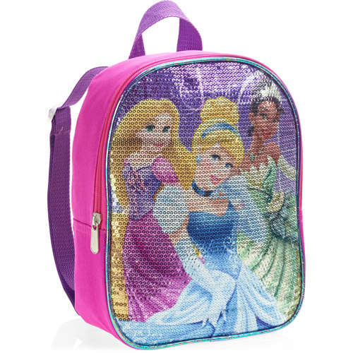 "Princess 10"" Sequin Backpack"