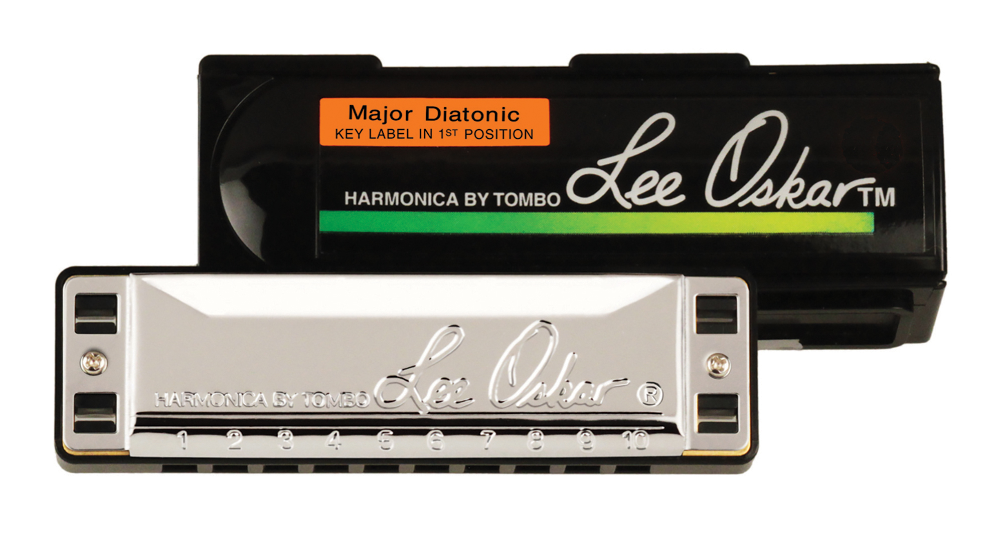 Lee Oskar Major Diatonic Harmonica Key Of B Flat by Lee Oskar Harmonicas