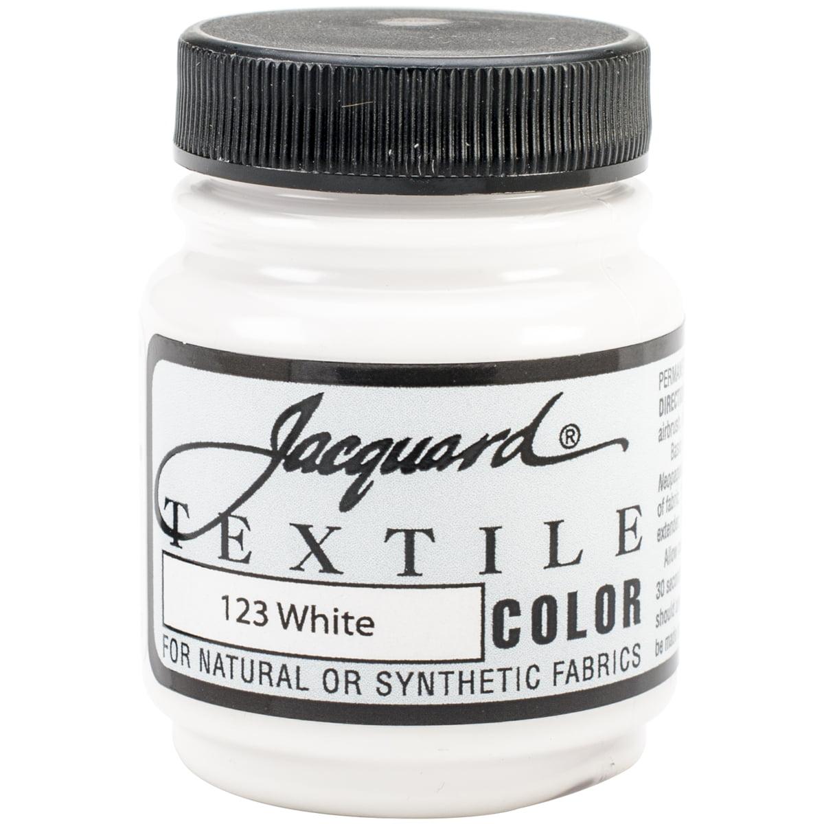Jacquard Textile Color Fabric Paint 2.25oz White
