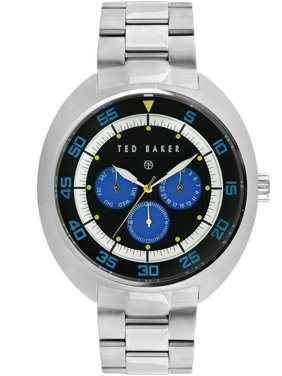 Men's Watch Sport Silver Case and Bracelet Blue Dial TE3046